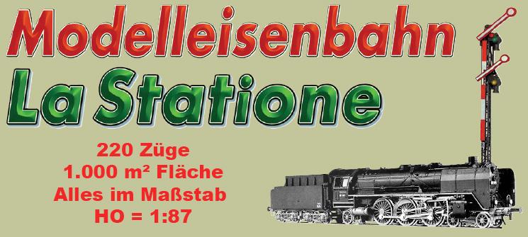 Modelleisenbahn La Statione